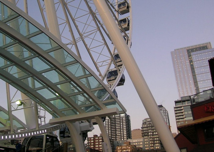 Seattle Great Wheel, Specialty Structure Engineering